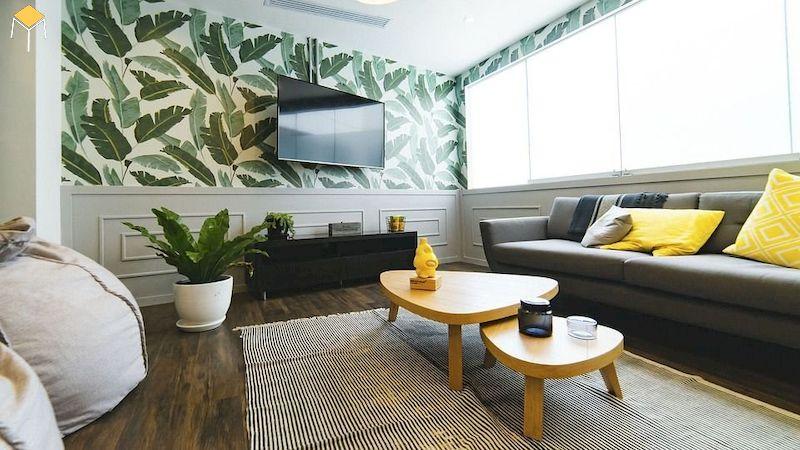 Phòng khách đẹp đơn giản