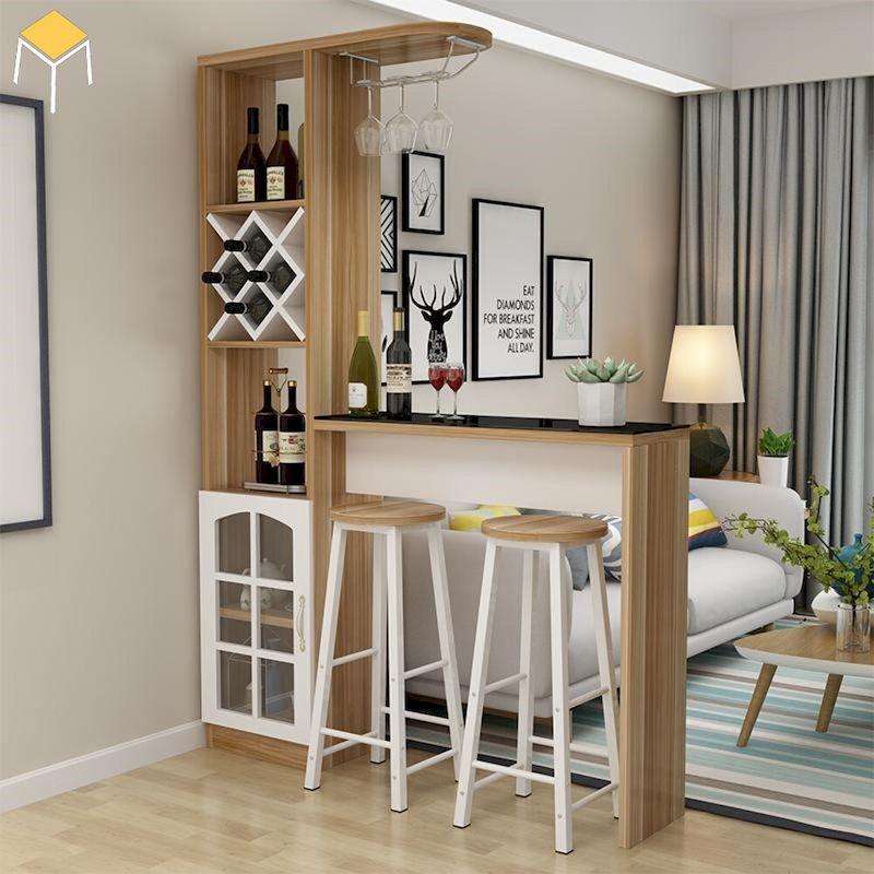 Tủ rượu quầy bar gỗ công nghiệp giá rẻ