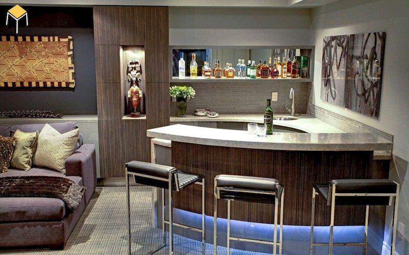 Tủ rượu quầy bar mini đẹp