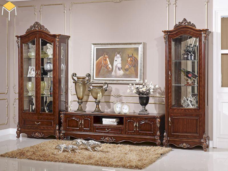 Chức năng lưu trữ rượu của tủ rượu tân cổ điển