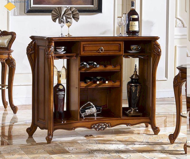Tủ rượu tân cổ điển là gì?
