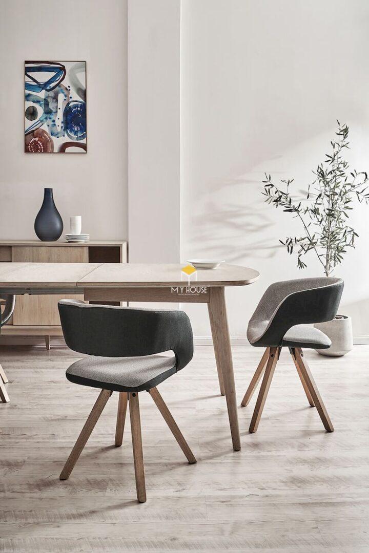 Mẫu bàn ăn thiết kế đơn giản, sang trọng