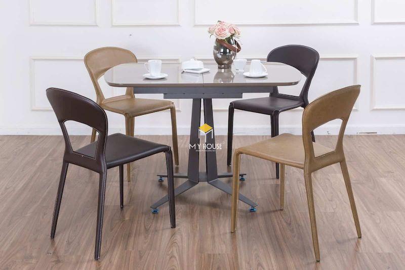 Kích thước bàn phù hợp với tổng thể không gian