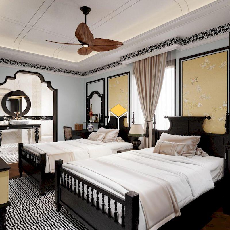 Các đặc trung của phòng ngủ phong cách Đông Dương