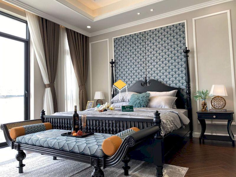 Thiết kế phòng ngủ phong cách Indochine
