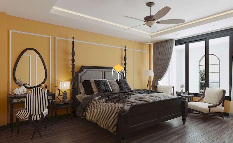 Mẫu giường Indochine hơi hướng cổ điển