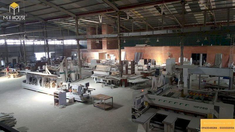 Xưởng nội thất gỗ veneer quy mô gần 6000m2