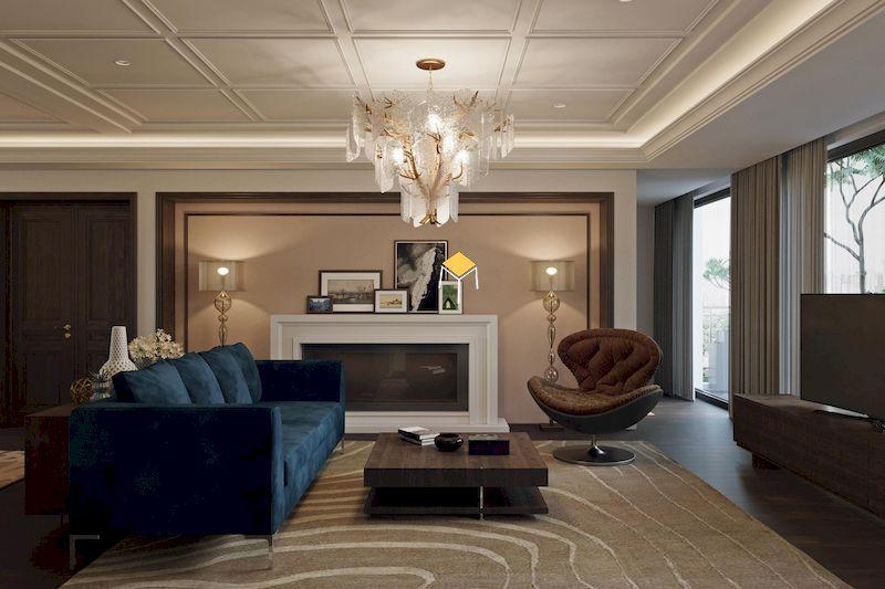 Showroom nội thất tân cổ điển - không gian sang trọng, đẳng cấp và nghệ thuật