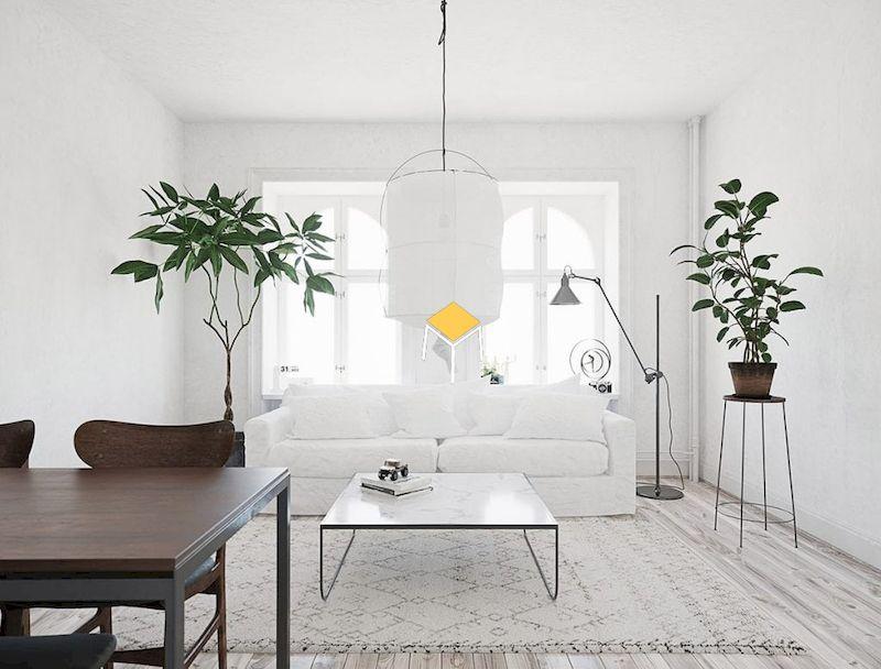 Mẫu sofa phong cách Bắc Âu đẹp