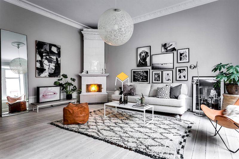 Sofa văng phong cách Scandinavian