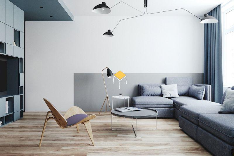 Thiết kế bàn ghế phòng khách hiện đại