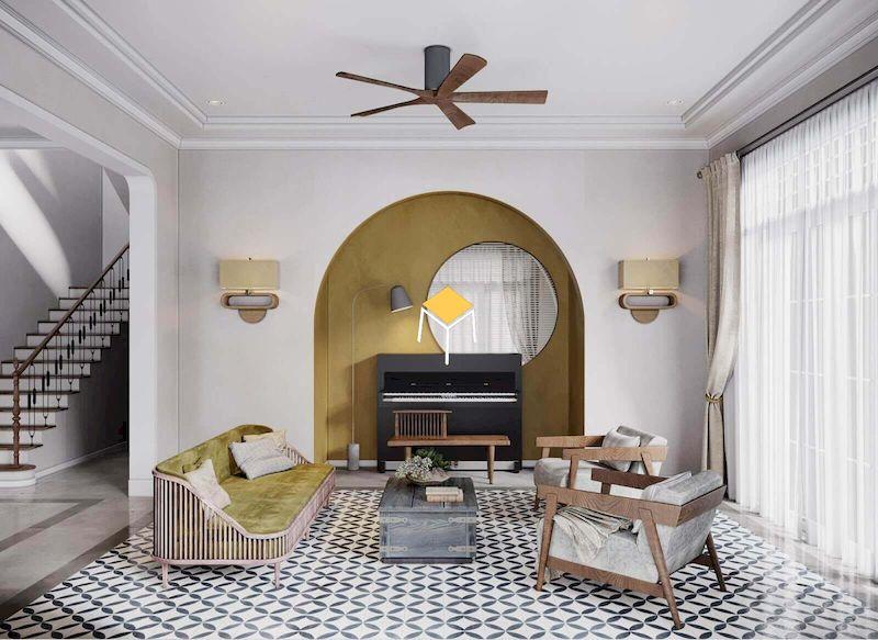 Phong cách thiết kế nội thất indochine - Nội thất My House