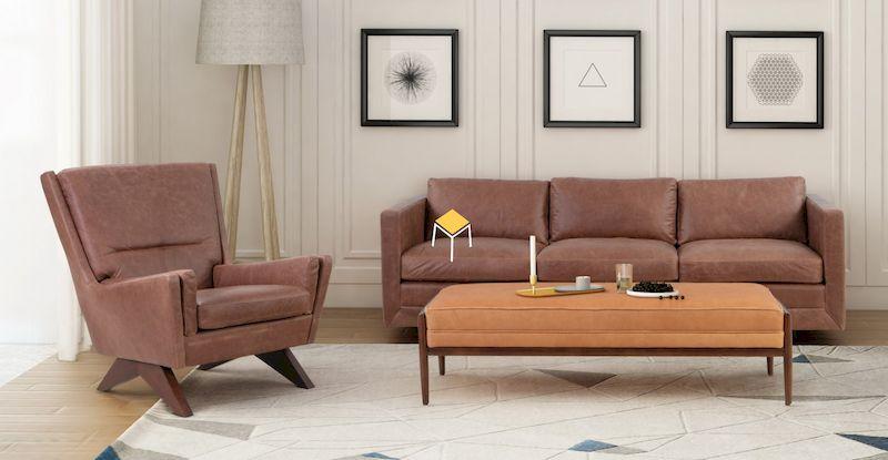 Mẫu sofa phòng khách Scandinavian đẹp