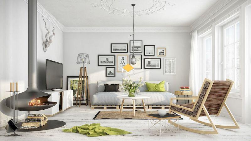 Mẫu sofa phong cách Scandinavian đẹp cho chung cư