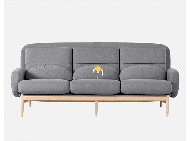 Ghế sofa văng hiện đại cho cung cư Bắc ÂU