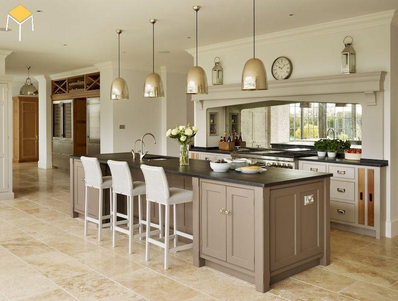 Thiết kế nhà bếp ở nông thôn đẹp giá rẻ
