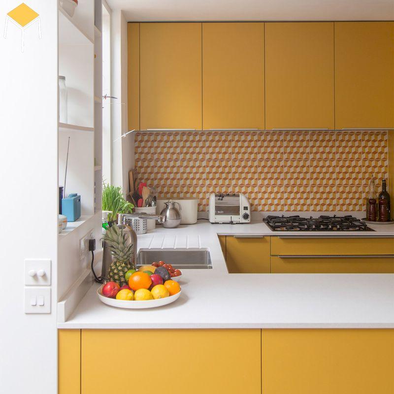 Thiết kế nhà bếp hiện đại, trẻ trung