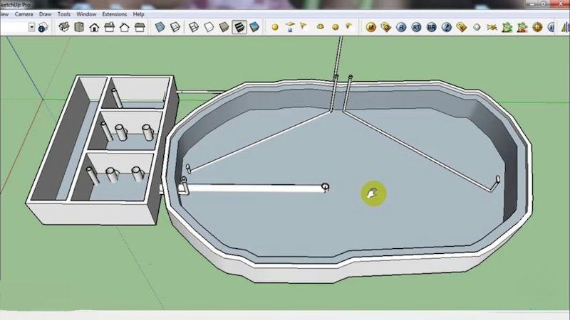 Yêu cầu của một bản vẽ hồ cá koivề thông số kỹ thuật