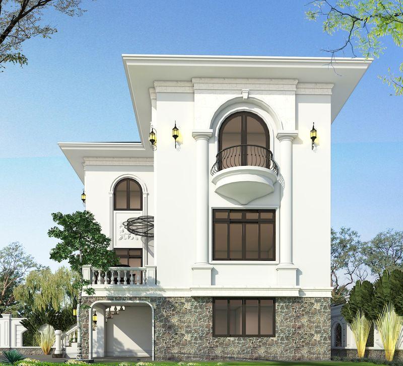 Một số lưu ý khi thiết kế biệt thự phong cách tân cổ điển