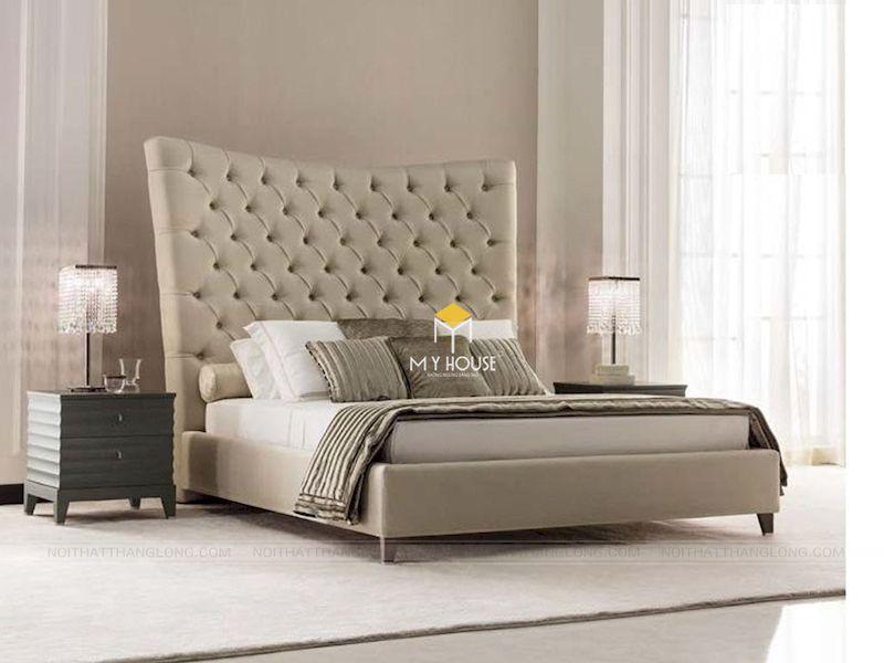 Kích thước giường bọc nỉ phổ biến