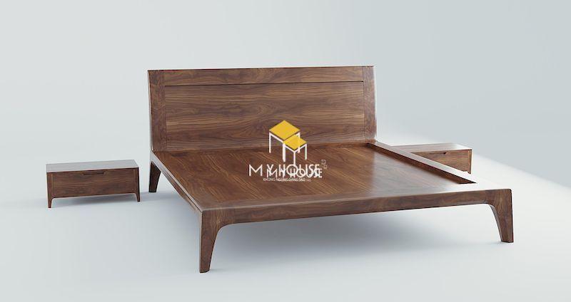 Vì sao bạn nên chọn giường gỗ 4 chân cao cho nội thất phòng ngủ?