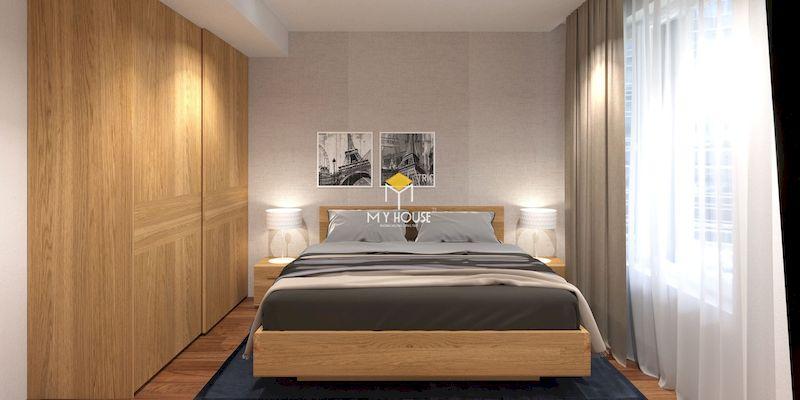 Ưu điểm của giường ngủ gỗ công nghiệp có chân