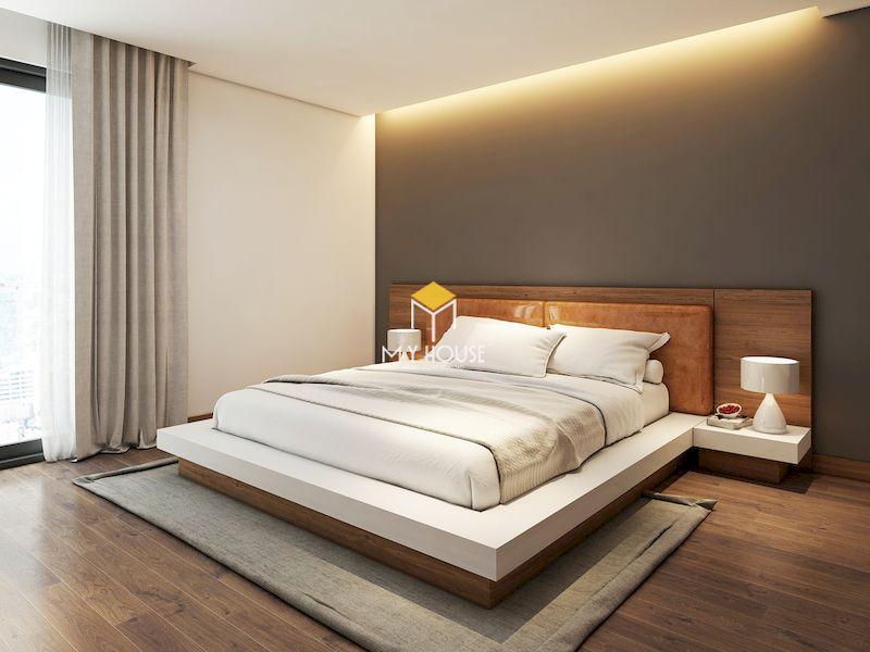 mẫu giường gỗ đẹp sang trọng gỗ công nghiệp