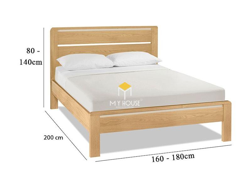 Kích thước giường gỗ công nghiệp là bao nhiêu