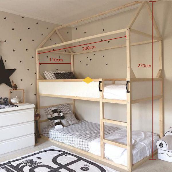 Kích thước giường tầng thường thấy