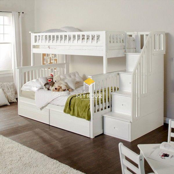 Giường tầng đa năng, thông minh cho bé