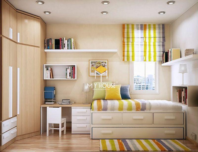 Thiết kế nội thất thông minh cho phòng ngủ nhỏ phù hợp nhu cầu sử dụng