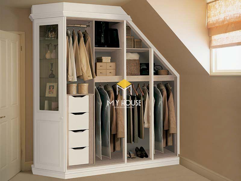 Tủ quần áo tận dụng không gian tối đa