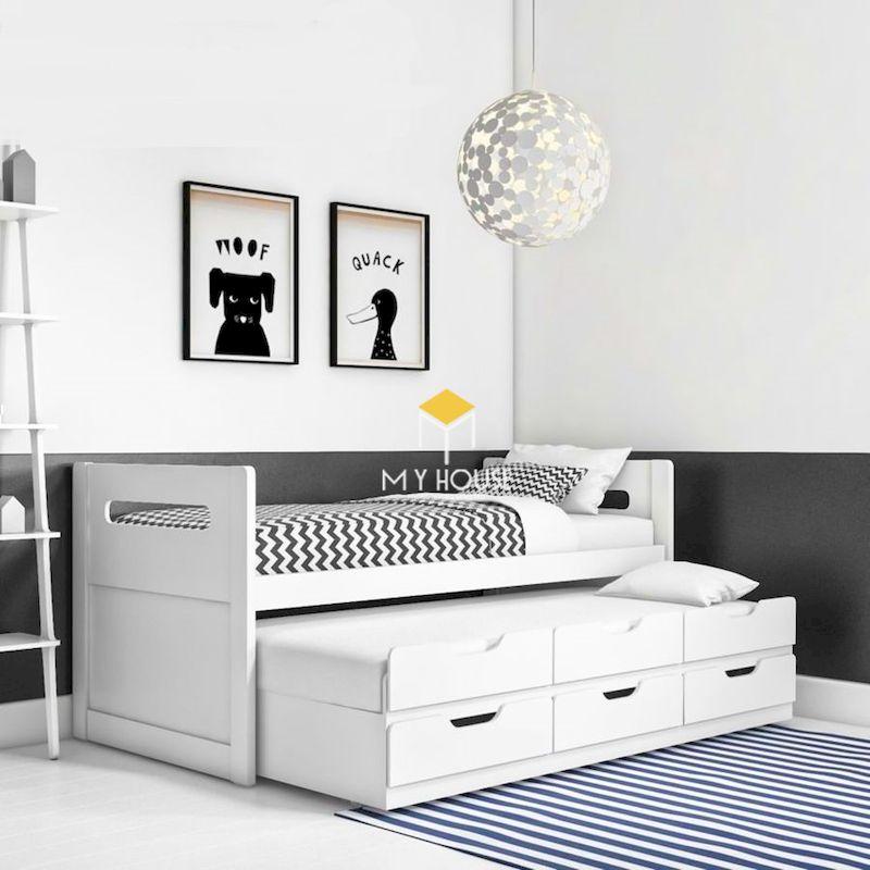 Lựa chọn màu sắc nội thất tổng thể, lựa chọn tone trắng