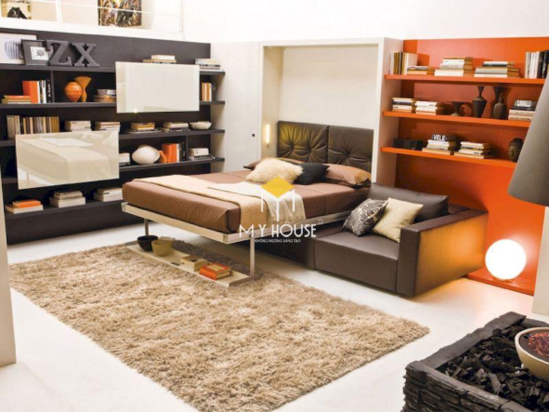 Thiết kế nội thất thông minh cho phòng ngủ nhỏ hiện đại