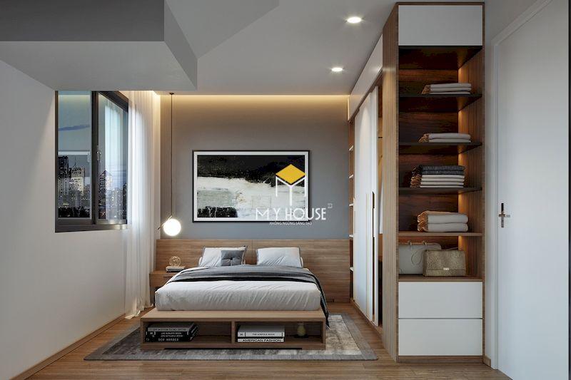 Mẫu thiết kế nội thất phòng ngủ nhỏ chung cư