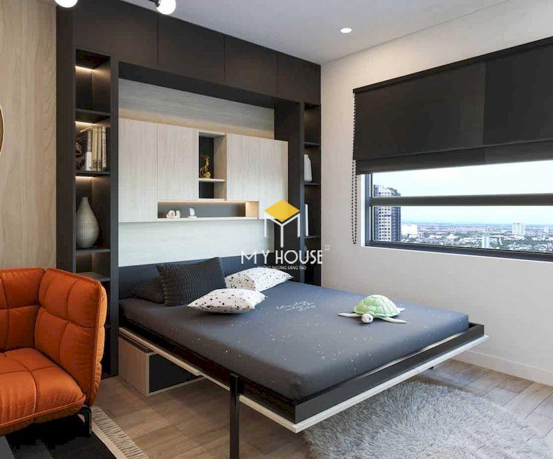 Giường ngủ đa năng, thông minh cho phòng ngủ nhỏ hiện đại