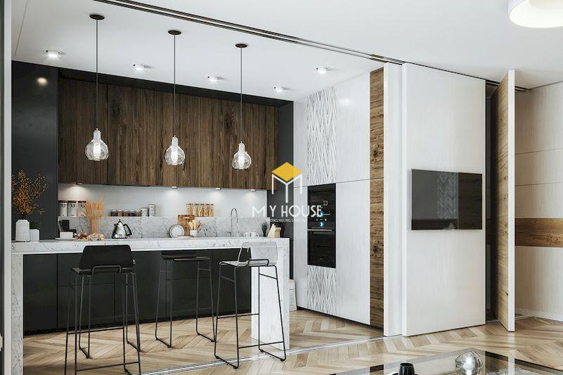 Lựa chọn tone màu trung tính phù hợp với tổng thể nội thất