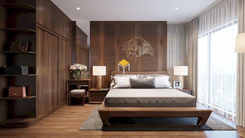 Phòng ngủ master hiện đại 3