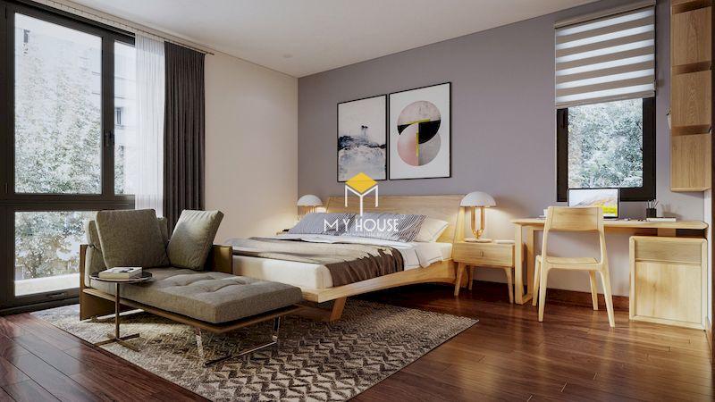 Diện tích mặt bằng phòng ngủ master
