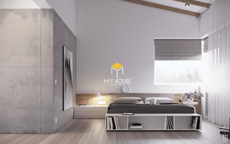 Xu hướng thiết kế nội thất phòng ngủ màu xám