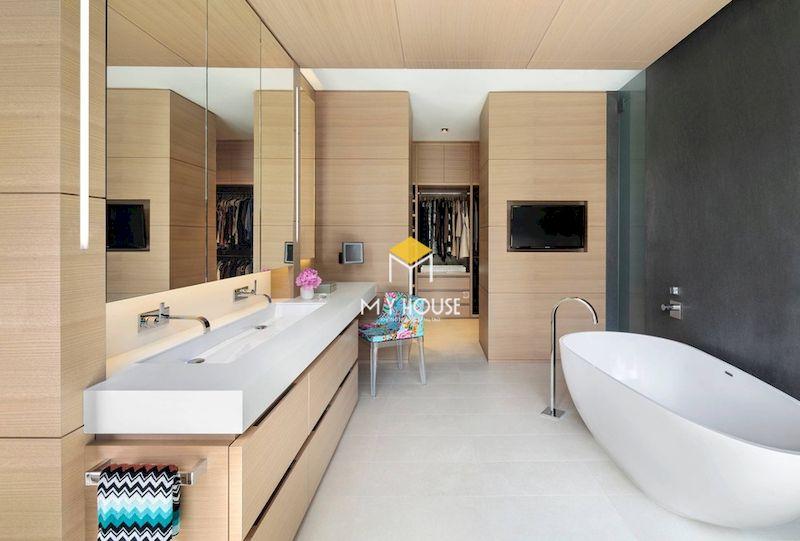 Tại sao nên thiết kế phòng thay đồ kết hợp phòng tắm?