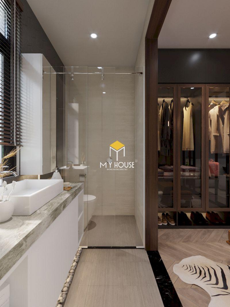 Xu hướng sử dụng phòng thay đồ thay vì tủ quần áo