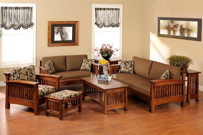 Vì sao nên mua sofa gỗ kiểu Nhật? - Chất liệu cao cấp