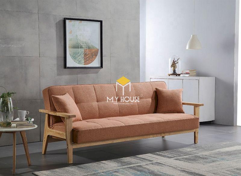 Bàn ghế sofa phòng khách kiểu Nhật