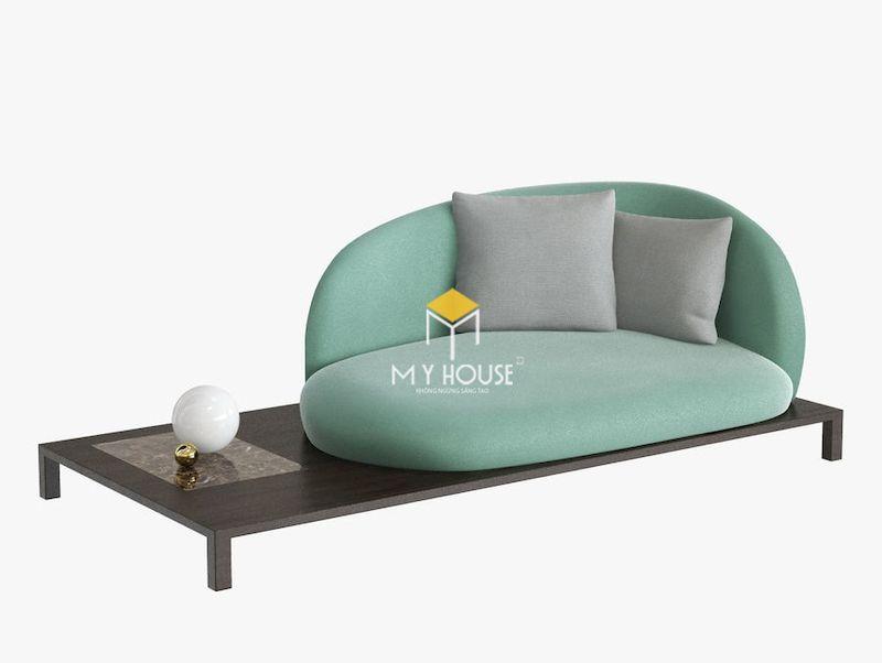 Mẫu sofa kiểu dáng ấn tượng