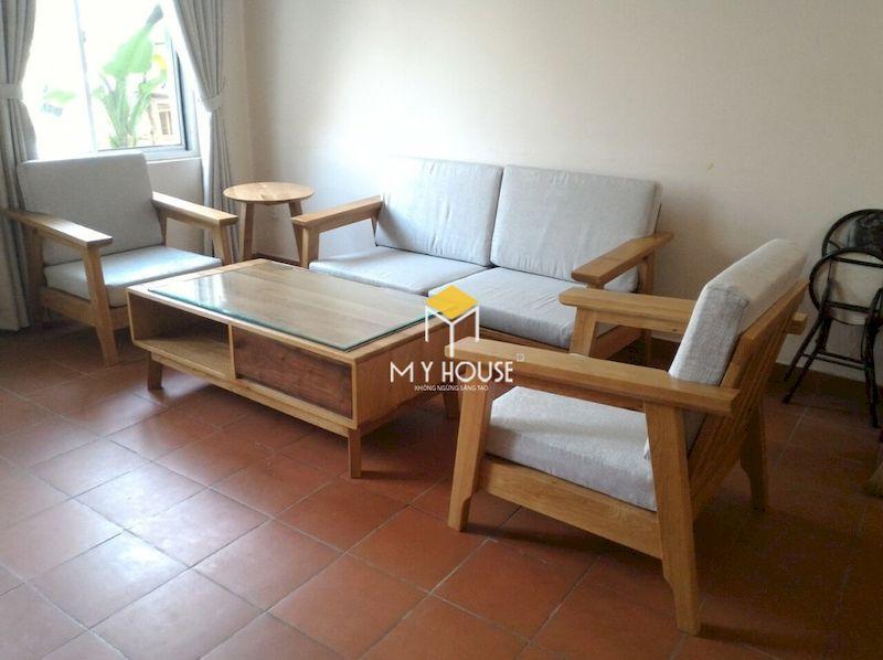 Bộ bàn ghế sofa gỗ tần bì