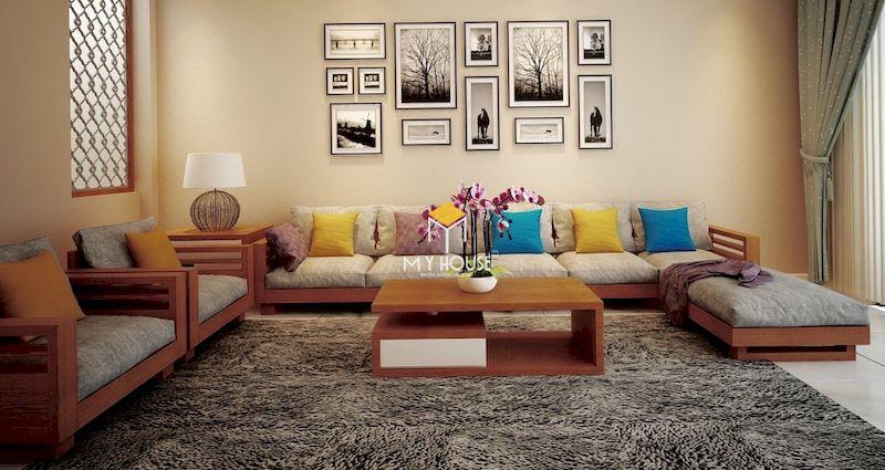 Vì sao nên mua sofa gỗ kiểu Nhật? - kiểu dáng đa dạng