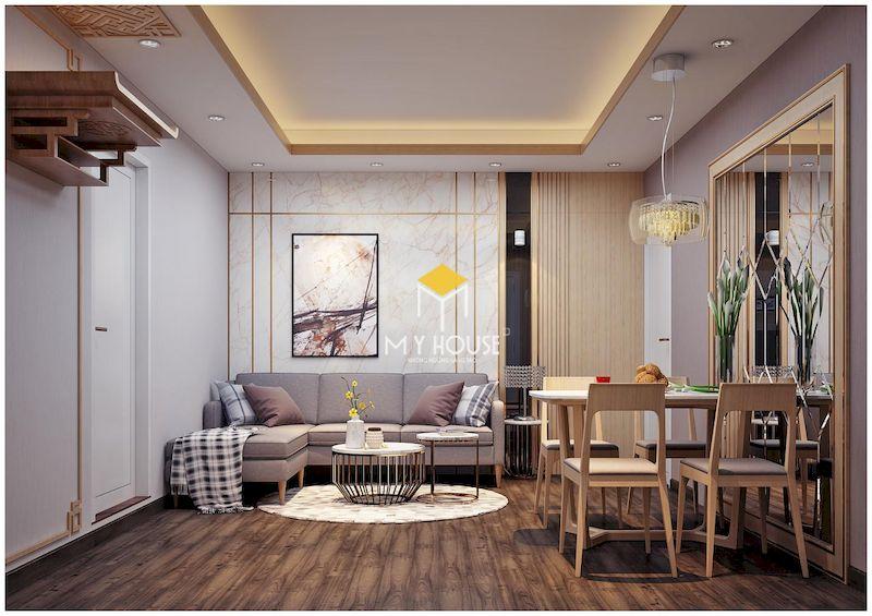 Báo giá thiết kế kế nội thất chung cư 75m2 chính xác nhất 2021