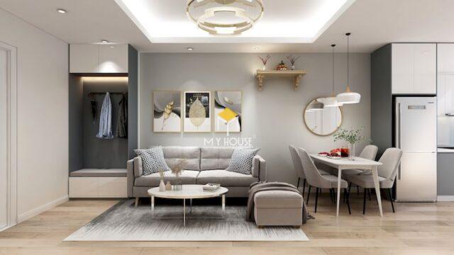 Thiết kế nội thất chung cư 75m2 22