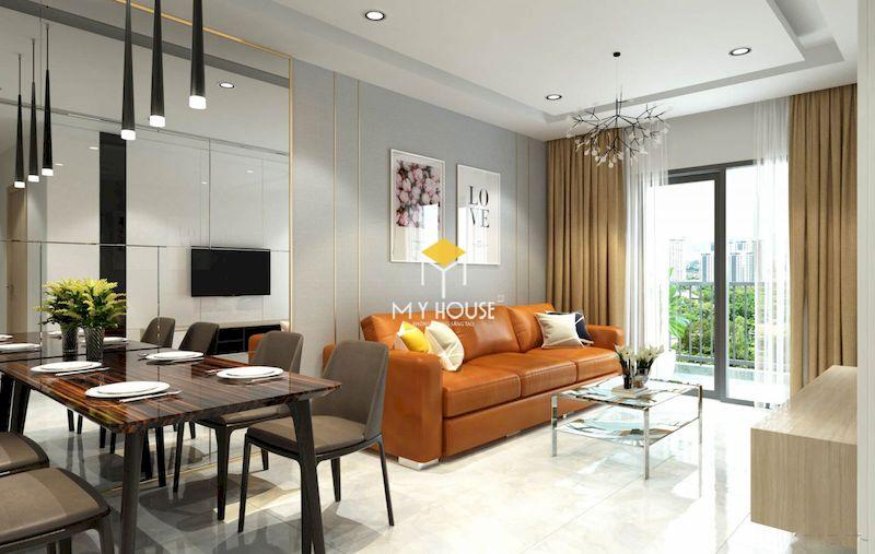 Yếu tố ánh sáng trong trang trí nội thất chung cư 75m2